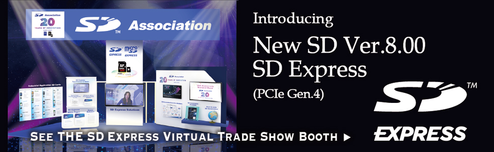 See the Sd express virtual trade show booth
